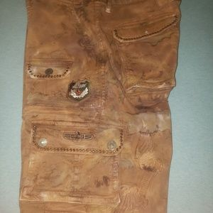 Robin Jean shorts tan Used